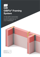 Landing Page GIBFix Framing Systems Literature Cover